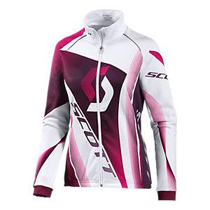 SCOTT RC Pro Jacket Plus Fahrradjacke Damen weiß/lila