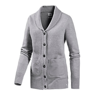 Burton Merchant Strickjacke Damen grau