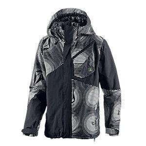 Volcom Versed Snowboardjacke Herren schwarz/weiß