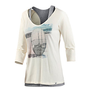 O'NEILL Bridge 2-in-1 Langarmshirt Damen offwhite