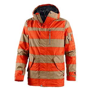 Burton Tracker Snowboardjacke Herren orange/beige