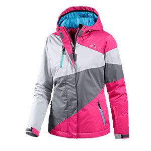 Maui Wowie Snowboardjacke Damen hellgrau/pink