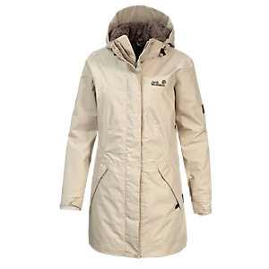 Jack Wolfskin 5th Avenue Funktionsmantel Damen ecru