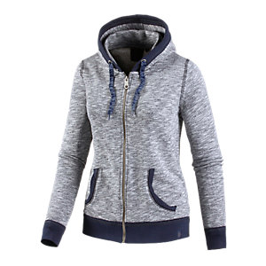 WLD Bird Love Sweatjacke Damen blau