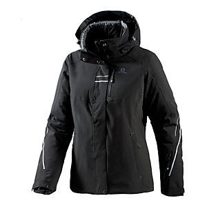 Salomon Brillant Skijacke Damen schwarz