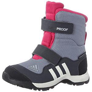 adidas Adisnow Winterschuhe Mädchen grau/pink