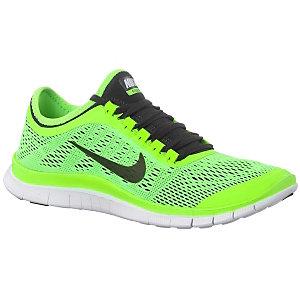 Nike Free Schwarz Neon Grün