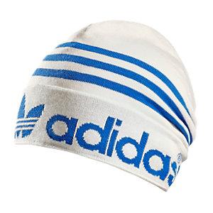 adidas Adicolor Logo Padded Beanie weiß/blau