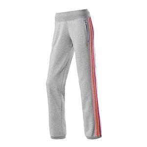 Adidas Sweathose Damen graumelange/pink im Online Shop von SportScheck