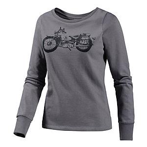 Volcom Biker Sweatshirt Damen grau