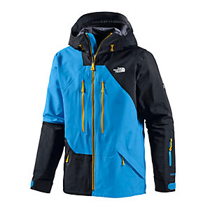 The North Face Free thinker Skijacke Herren blau/schwarz/gelb
