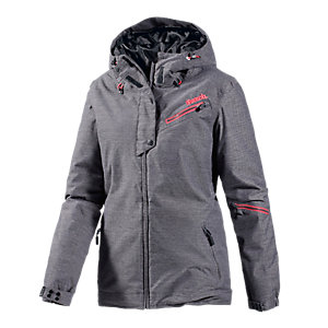 Bench Nymphe Snowboardjacke Damen anthrazit