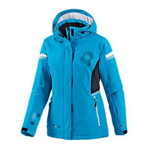 White Season Skijacke Damen türkis
