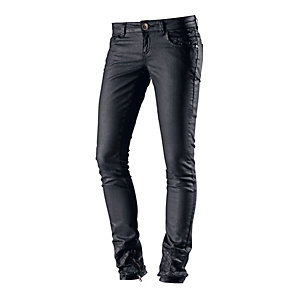 DEPT Skinny Fit Jeans Damen schwarz