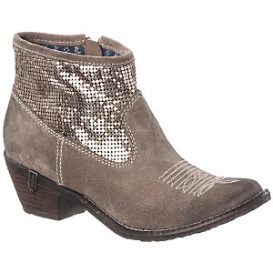 REPLAY Bootie Damen beige/goldfarben