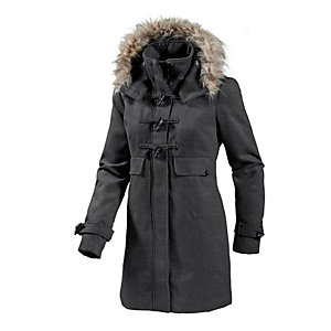 TOM TAILOR Parka Damen anthrazit