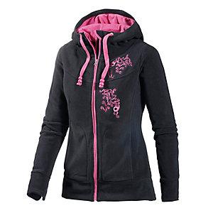 Maui Wowie Fleecejacke Damen schwarz/pink