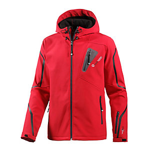 White Season Softshelljacke Herren rot