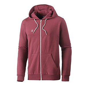 Volcom Icon Sweatjacke Herren bordeaux