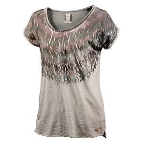 REPLAY Printshirt Damen beige
