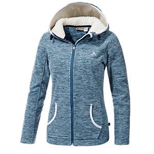 ock fleecejacke damen blau im online shop von sportscheck kaufen. Black Bedroom Furniture Sets. Home Design Ideas