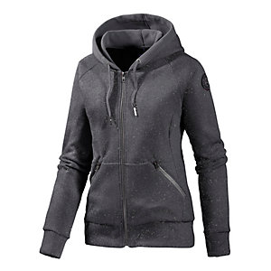 Bench Faithfull Fleecejacke Damen anthrazit