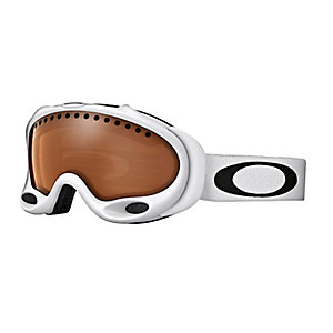 Oakley A-Frame Snowboardbrille snow matte white w/black iridium