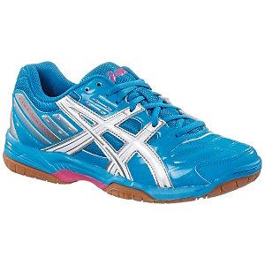 ASICS Gel Squad Handballschuhe Damen blau/weiß