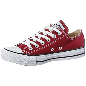 CONVERSE Chuck Taylor All Star Low Sneaker Damen weinrot