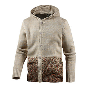 Insight Magnetize Strickjacke Herren grau