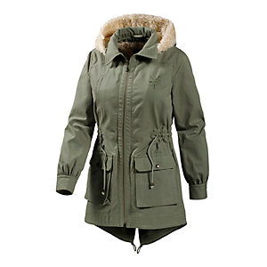 Zoo York Convertible Parka Damen oliv
