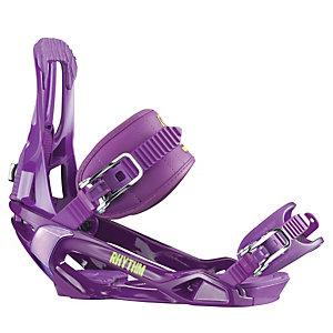 Salomon Rhythm Snowboardbindung lila