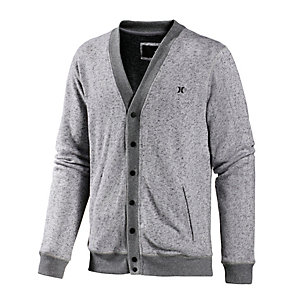 Hurley Retreat Strickjacke Herren grau