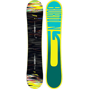 Burton Sherlock Flying V All-Mountain Board schwarz/bunt