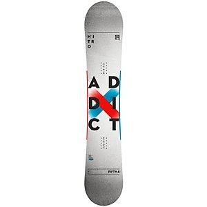Nitro Snowboards Addict Freestyle Board grau/weiß/bunt