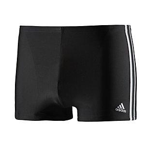 adidas Kastenbadehose Herren schwarz/weiß/grau