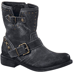 REPLAY Bikerboots Damen schwarz