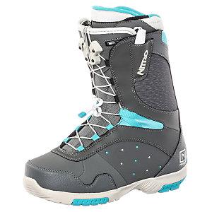 Nitro Snowboards Crown TLS Snowboard Boots Damen grau/blau