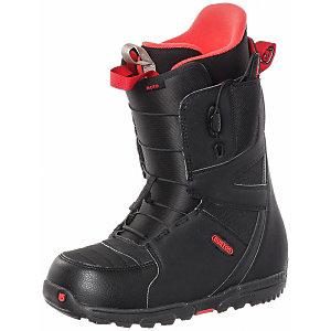 Burton Moto Snowboard Boots schwarz/rot