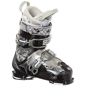 ATOMIC Live Fit 80 Skischuhe Damen in schwarz/silberfarben, Größe 25