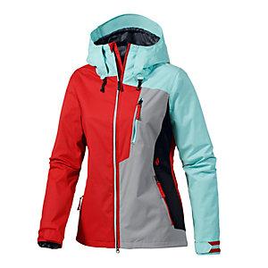 Volcom Stone Snowboardjacke Damen rot/mint/schwarz