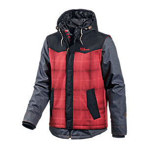 Westbeach Garage Snowboardjacke Herren rot/denim