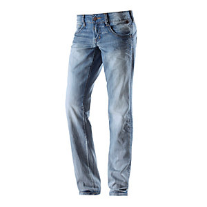 TIMEZONE Evia Straight Fit Jeans Damen used denim