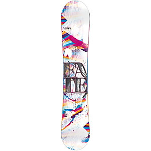 Nitro Snowboards Fate All-Mountain Board Damen schwarz/weiß/bunt