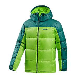 Marmot Ascent Hoody Daunenjacke Herren grün
