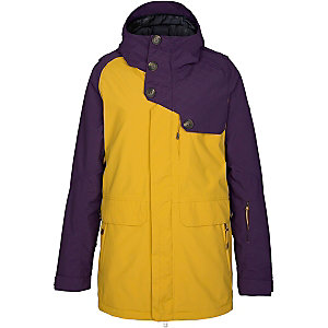 Zimtstern Richon Snowboardjacke Damen gelb/lila