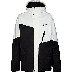 Zimtstern Cover Snowboardjacke Herren weiß/schwarz