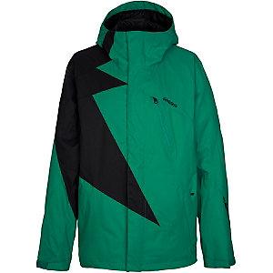Zimtstern Flash Snowboardjacke Herren grün/schwarz