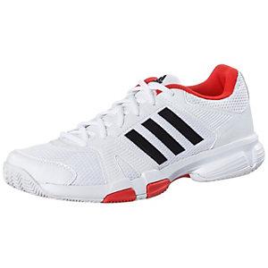 adidas Barracks F10 Fitnessschuhe Herren weiß/schwarz/rot