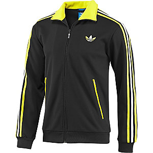 adidas firebird trainingsjacke herren schwarz gelb im. Black Bedroom Furniture Sets. Home Design Ideas